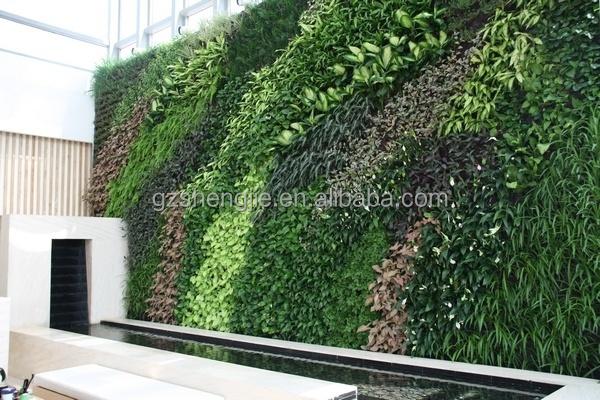 Outdoor artificial vertical wall artificial garden wall for Jardin vertical artificial