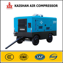 Rotary air compressor 455cfm 1.3Mpa diesel engine air compressor for mining