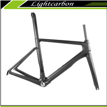 2016 LightCarbon Di2 Competibal Road Bike Full Carbon Fiber Frame Kit From China LCR008-V