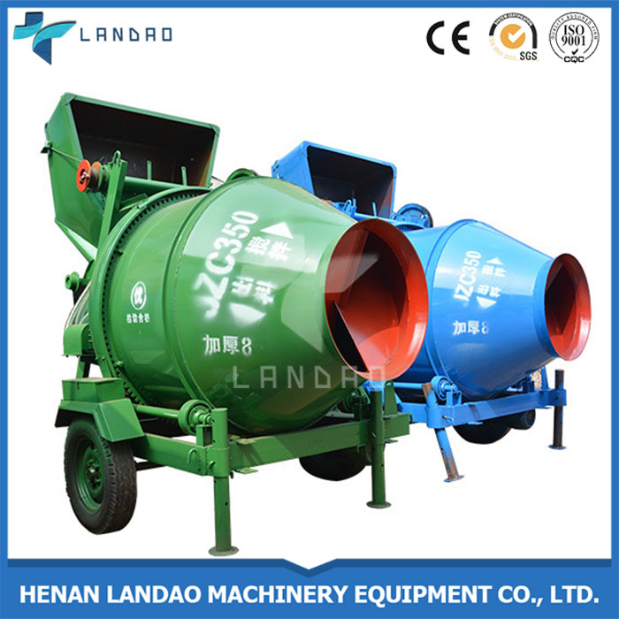 China manufacture Drum Reversing Portable Electric Concrete Mixer in srilanka price