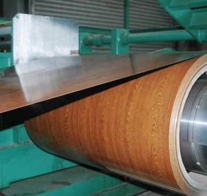 wood grain steel for decorative building roof sheets