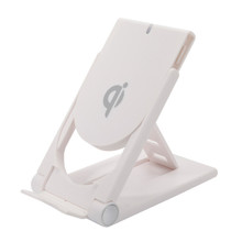 New Evergreentech Qi Wireless Charging Foldable Stand Holder Anti-Slip Desktop Charger Wholesale Multi Charge Dock