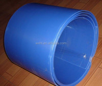 16032406 Whole Sale Blue Plastic PP Corrugated Sheet In Rolls For Construction Use