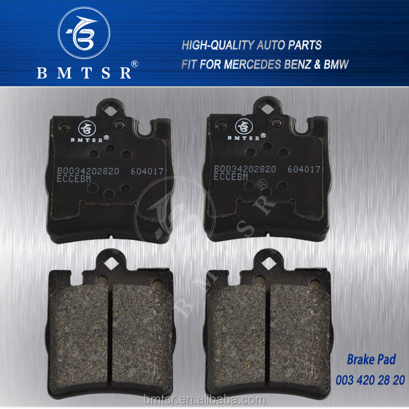Chinese Famous Brand- Rear Brake Pads for MERCEDES W210 OE:003 420 28 20