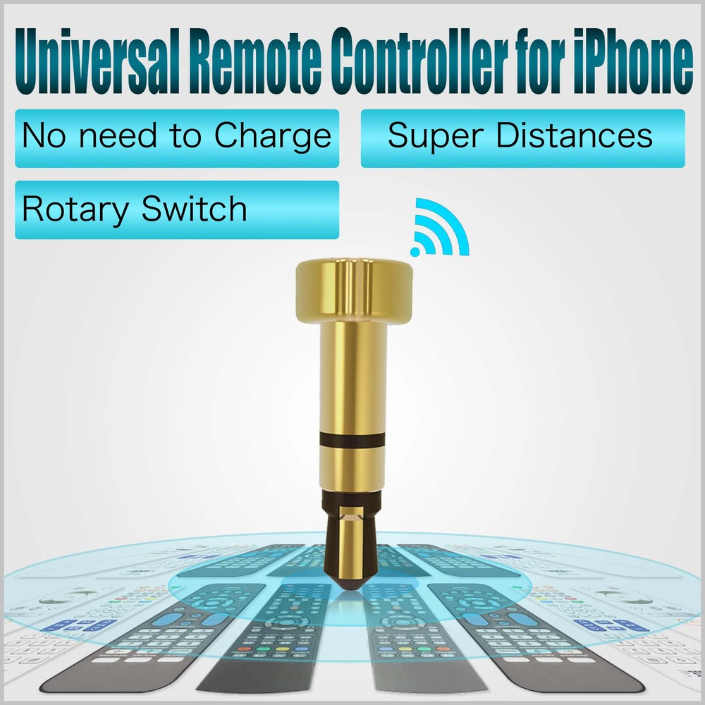 Smart Wireless Ir Remote Control For Apple Device Commonly Used Earphone Accessiories Power Bank Phone Case For Shure Se215