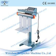 Hot Sale pedal sealing machine aluminum frame impulse heat sealer foot operated sealing machine for pp pe bags