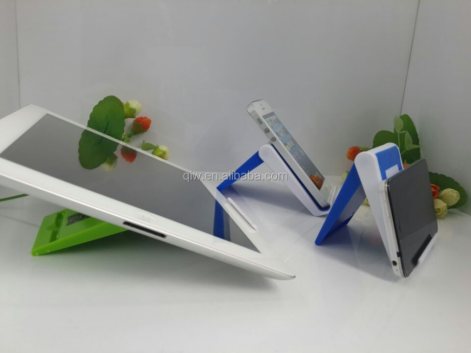 UNIQUE folding adjustable Plastic mobile stand 2016