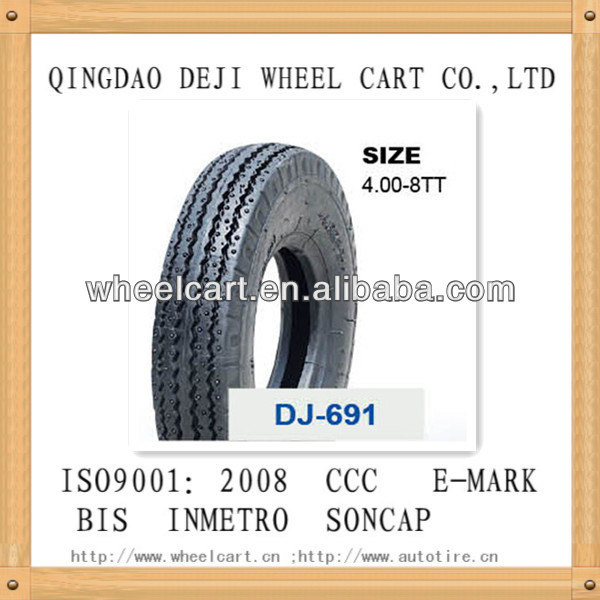 heavy duty motorcycle tyre /motorcycle tires /three wheeler tyre 4.00-8