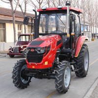 Hot Sale Farm Equipment 20-50HP Tractor/Small Tractor With Farm Attachment