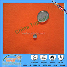 EN29420 EN14419 polyester Rayon water proof and oil repellent fabric