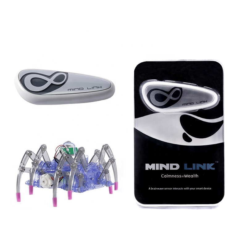 Brainwave headband control spider robot kit Mindlink high tech toys for <strong>kids</strong>