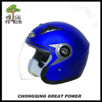 Winter Safety Head Protection Motorcycle Half-Face ABS Helmet