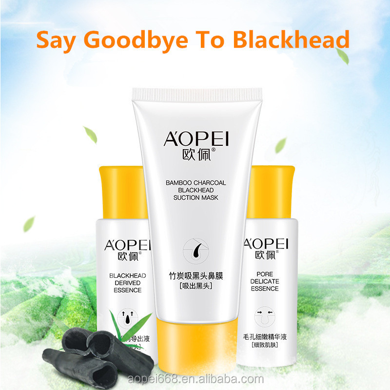 High quality oil control nose toner blackhead remover mask skin care set