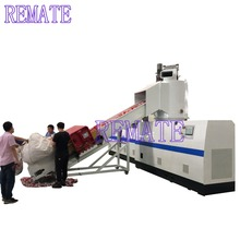 Cheaper price plastic film or bag granulator machine with compacotr or agglomerator