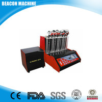 BC-8H Garage Equipment Fuel Injector Tester and Cleaner fuel injector cleaning machine