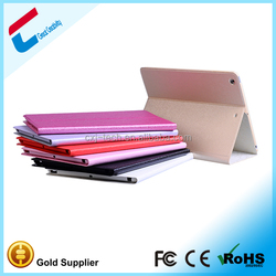 Hot sale stand pu leather waterproof case for ipad mini 2,custom rotating case for ipad