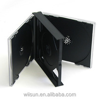 23mm with black tray 4 discs jewel CD case