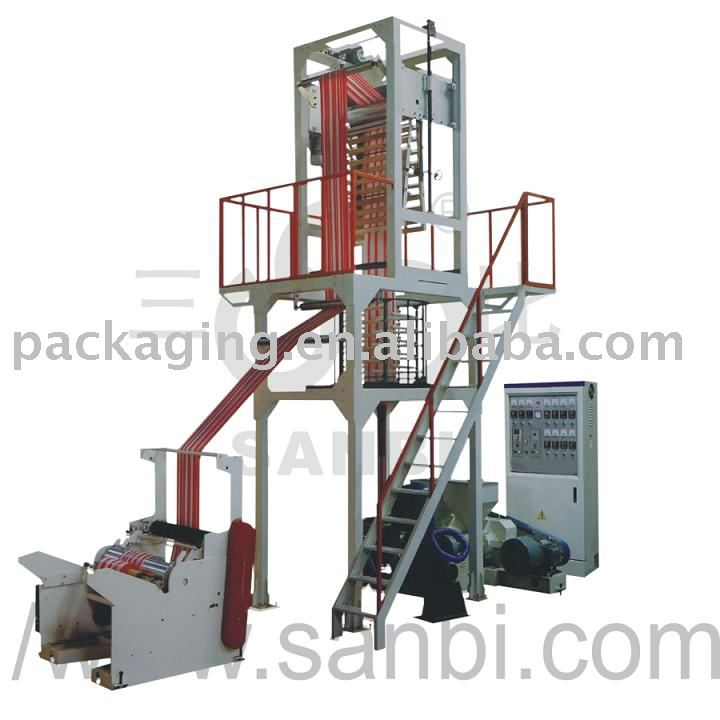 double color strip Film Blowing Machine Set