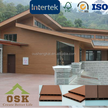 Weather-resistant durable outdoor wall panel practical wall cladding