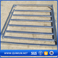qunkunGalvanized Horse Round Portable Stock Cattle Yard Panel/welded wire corral panels