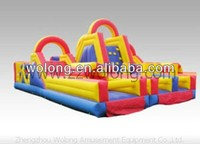 inflatable bouncer slide, inflatable double lane slip slide