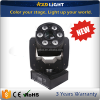 2016 new product stage lighting DMX led GOBO wash spot RGBW 4in1 mini moving head
