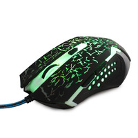 Fashion High Quality Computer Wired Optical Mouse by China factory