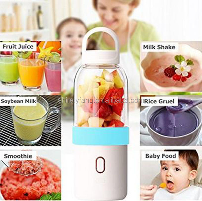 500ml Gift Box Portable Mixer Bottle Cup Automatic Mini Fruit Juicer Blender Protein Coffee Shaker Juice