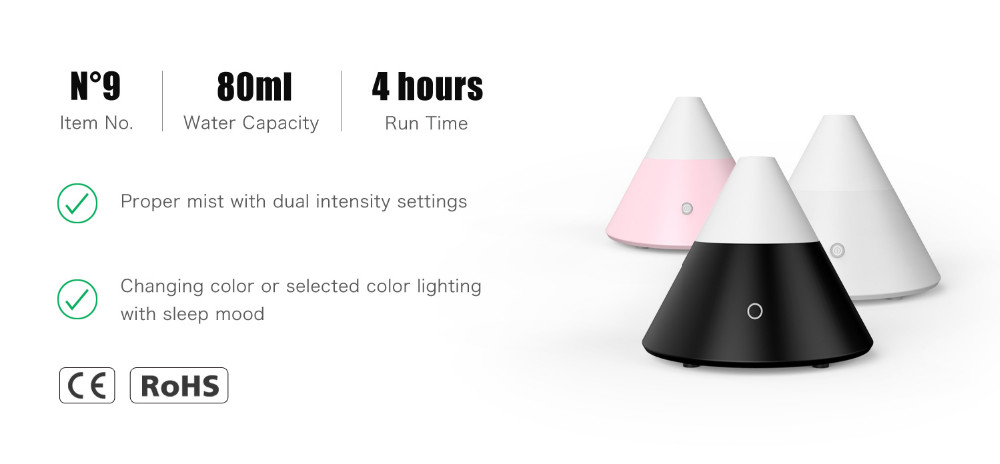 Ultransmit N9 Customized Ultrasonic Aroma Diffuser for Home