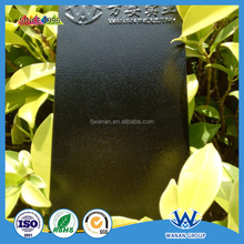 Black wrinkle texture epoxy polyester powder coating