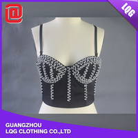 Hot sale black young girls western style sexy bra underwear