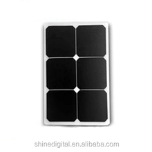 Customized solar power sunpower 10w 18w 25w 12v 18v semi flexible panel