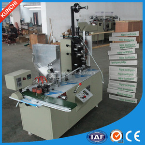 Popular exported toothpick packing machine with three sides sealing and two color printing