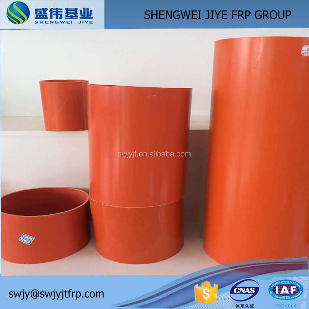 GRP Conduit Pipe /plastic tube for electrical wire/electric wire protection tube