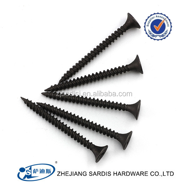 Wholesale Black drywall screw Sharp-AB point Tornillos Drywall