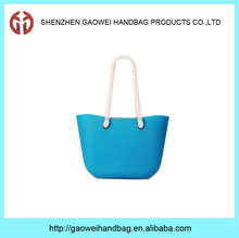 Hot sale high quality promotional pvc silicone beach bag GW768