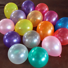 Party Decoration 12 inch 3.2g Metallic Latex Balloon