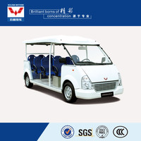 Competitive price new appearance 11 seater 72V electric free shuttle