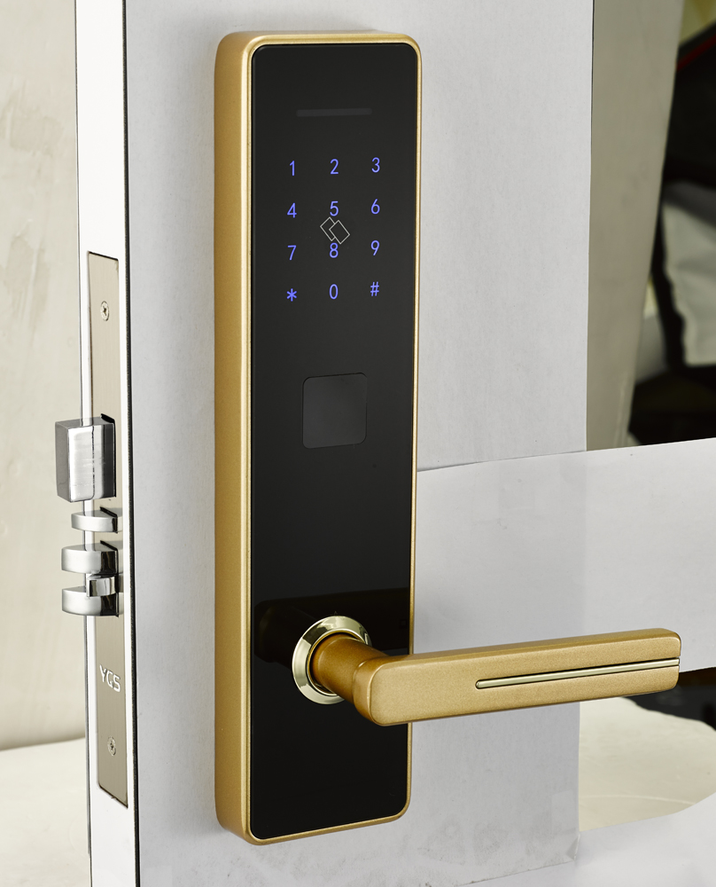 Keyless Home Entry Suppliers And Manufacturers Gold Digital Keypad Door Lock Electronic At