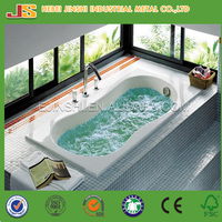 Factory hot sale Modern fashion Drop in Cast iron Indoor soaking Bathtub