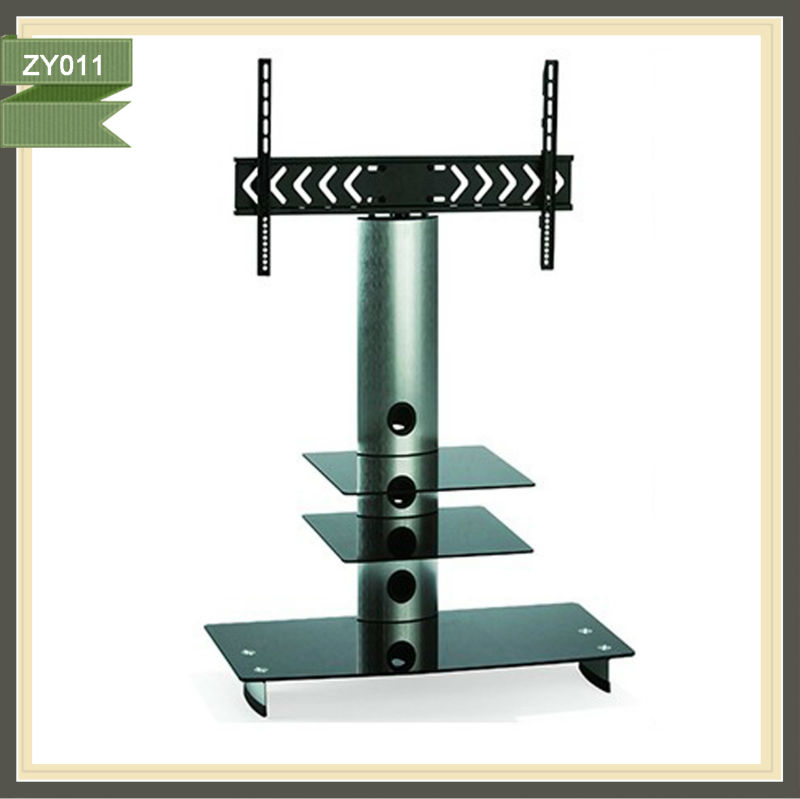 2013 year free standing tv stand tilt and turn tv bracket ZY011