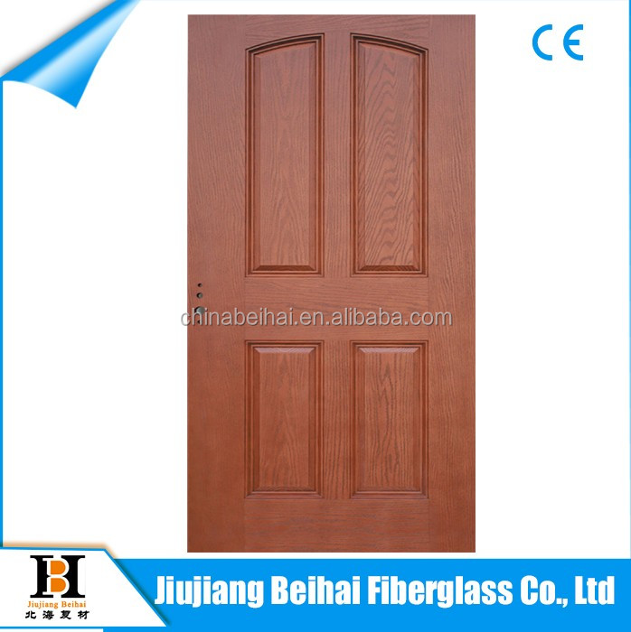 Safety wooden doors design SMC door frp door