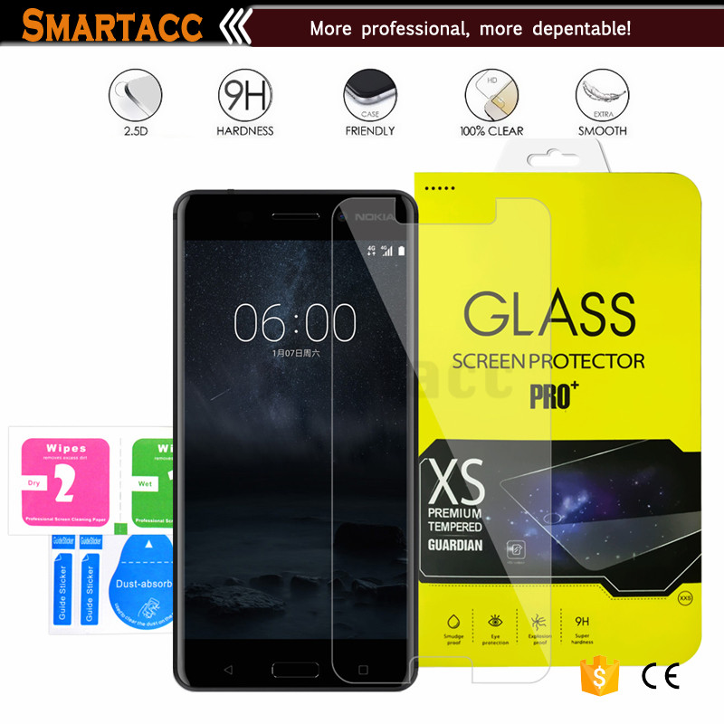 Phone Accessories For Nokia 6, 0.33 mm, 9H Tempered Glass Screen Protector For Nokia 6