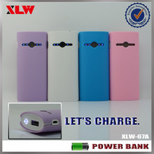 China Manufacturer 5000mah USB Portable Mobile Battery Charger MOQ 20pcs ONLY