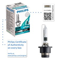 Genuine Philips X-treme Vision D2R Xenon HID Headlight Bulb (Single) 85126XVC1 - Also available in D1S | D2R | D3S