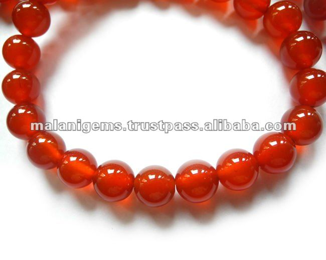 10 mm Natural Dark Color Carnelian Plain Round Balls Loose Beads