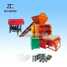 ZCJK QTJ4-35I concrete block machine compressive strength