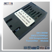 safety equipment in 1250M 1550nm 80Km of CWDM transmitter digital video mixer