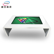 2016 hot sale beautiful design multi lcd screen kiosk touch table
