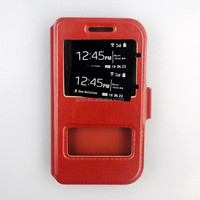 Made Of PU And Silicone For htc desire 601 Window Mobile Phone Cover